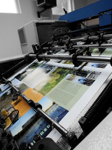Ofszet nyomtatás